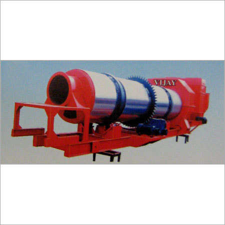Dryer & Mixing Unit For Asphalt Drum Mix Plant