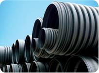 HDPE Double Wall Corrugated Pipes