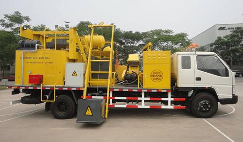 recycling asphalt machine