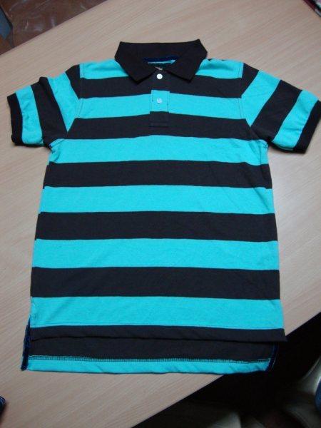 Cotton Stripe Polos