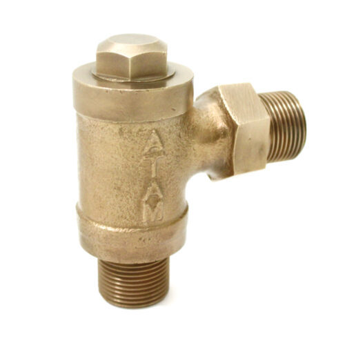 Bronze Feed Check Valve Right Angle Pattern