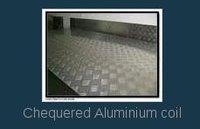 Chequered Aluminium Coil