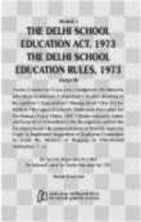 Akalank`S Delhi School Education Act And Rules 2012 ( English )