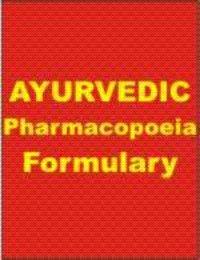 Ayurvedic Pharmacopoeia Of India Part I Volume 1 ( English )