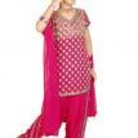 Kids Designer Patiala Salwar Suits