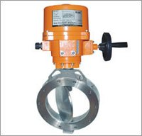High Performance Butterfly Valve Electrical Actuator Operated