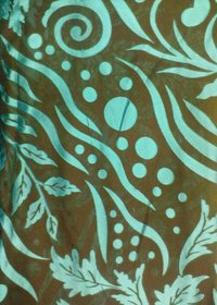 Brasso Dyed Contrast Color Fabric