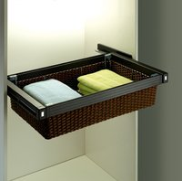 Rattan Wicker Saree Basket Drawer