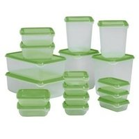 Plastic Food Jars