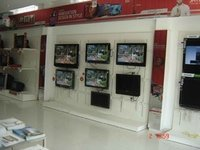 Electronic Showroom Display Racks