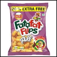 Khatta Meetha Puffs