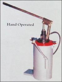 Hand Operated Lubricating Grease Pumps