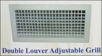 Double Louver Adjustable Grill