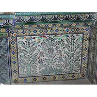 Glass Inlay Wall Panels