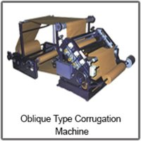 Oblique Type Paper Corrugation Machine