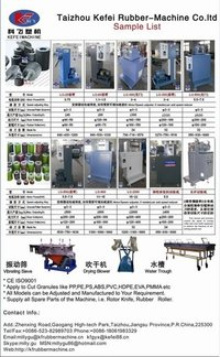 ISO CE Certificate Plastic Recycling Pelletizing Machine