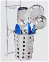 Cutlery Holder With Glass