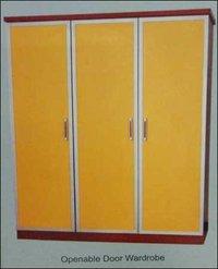 Openable Door Wardrobe