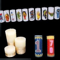 Cylinder Shaped Candles
