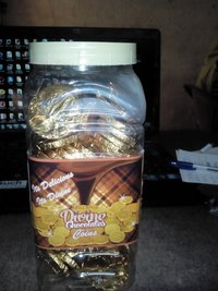 Flavored Gold Coin Chocolates