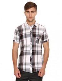 Men'S Cotton Half Sleeves Shirt
