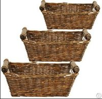 Wicker Storage Basket Hamper