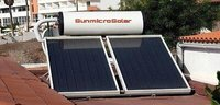 Solar Water Heater Flat Plate System