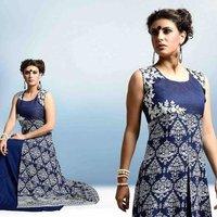 Designer Sleeveless Ladies Suit