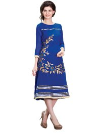 Ladies Round Neck Kurta