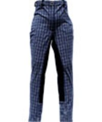 Ladies Woven Check Breeches