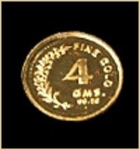 Round Gold Coins