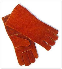 Shoulder Grade Split Leather Welding Full Gloves