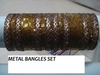 Metal Bangles Set