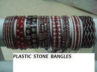 Plastic Stone Bangles