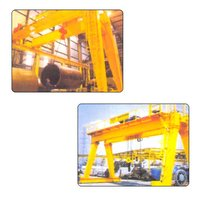 Goliath And Rail Mounted Gantry Cranes