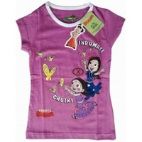Pink Color Girls T-Shirts