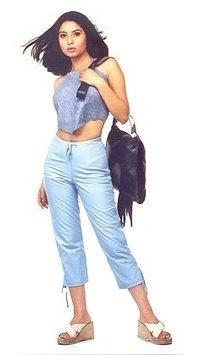 Ladies Belly Jeans