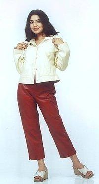 Creme Jacket Top