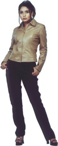 Short Zip Up Semi Fitted Jacket