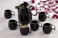Black Gold Mug Set