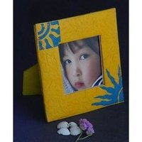 Handmade Paper Photo Frame
