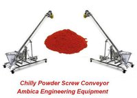 Industrial Chilly Powder Screw Conveyor